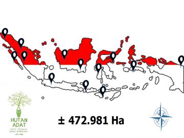 1099970 Hektar Wilayah Mentawai Masuk Peta Wilayah Indikatif Hutan Adat Fase 1