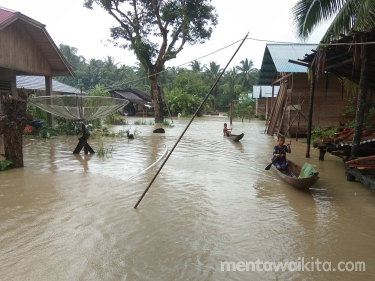 Tujuh Dusun di Sagulubbek Terendam Banjir