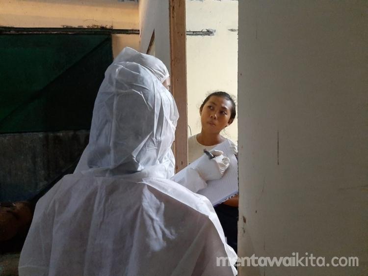 Gedung Karantina Pelabuhan Pokai Dipakai Perdana Untuk Siswa Yang Terpapar Covid-19