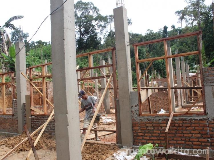 SMKN 2 Mentawai Bangun Ruang Praktik dan Rehab Gedung Rp5 Miliar Lebih dari DAK Disdik Sumbar