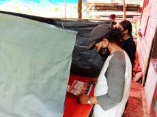 Warga Taikako Antusias Datangi TPS Sejak Pagi Berikan Suara untuk Pilkades
