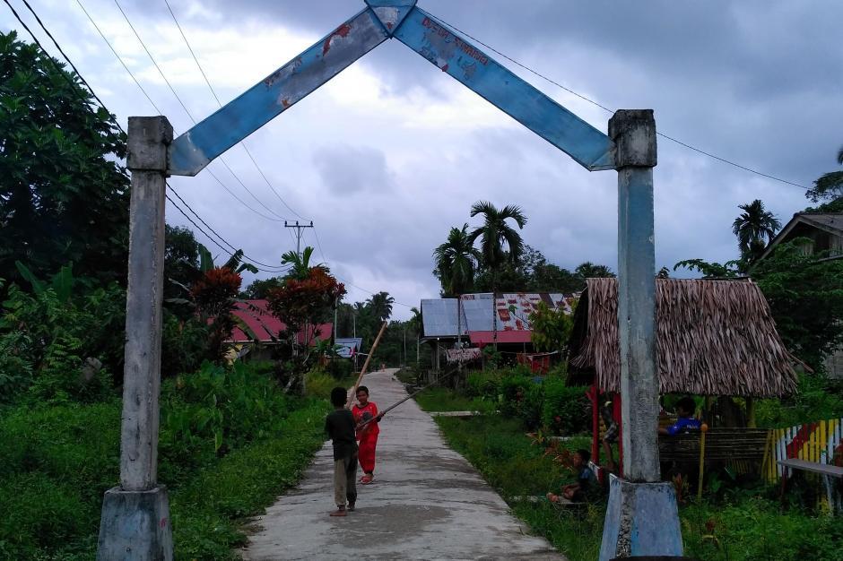 Dusun Bat Simaruei Desa Taileleu Siberut Barat Daya